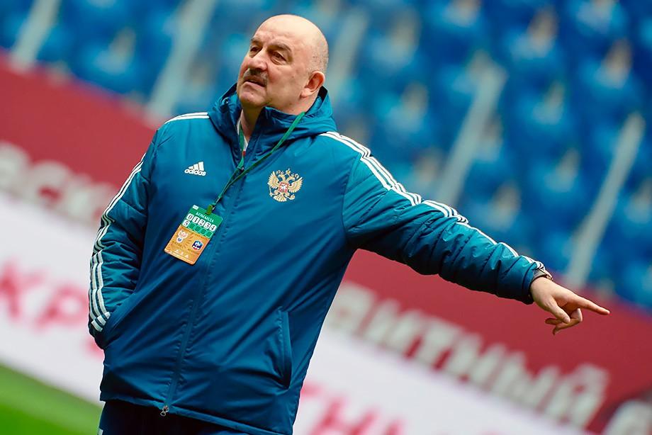 Черчесов иЛунёв— опредстоящем матче сборной Российской Федерации сФранцией
