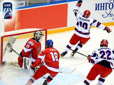 Российские юниоры обыграли чехов