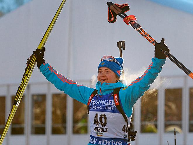 Екатерина Юрлова - о лучшем в жизни спринте