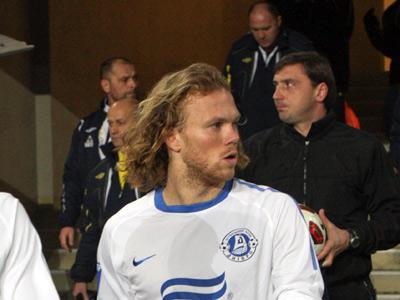 Защитник «Днепра» Виталий Денисов получил травму на сборе команды