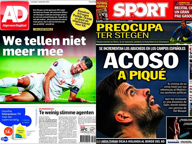 Матчи квалификации Евро-2016 - в обзоре прессы