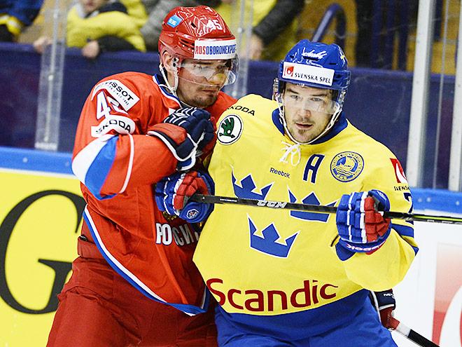 Кубок Карьяла. Швеция – Россия – 5:4 Б