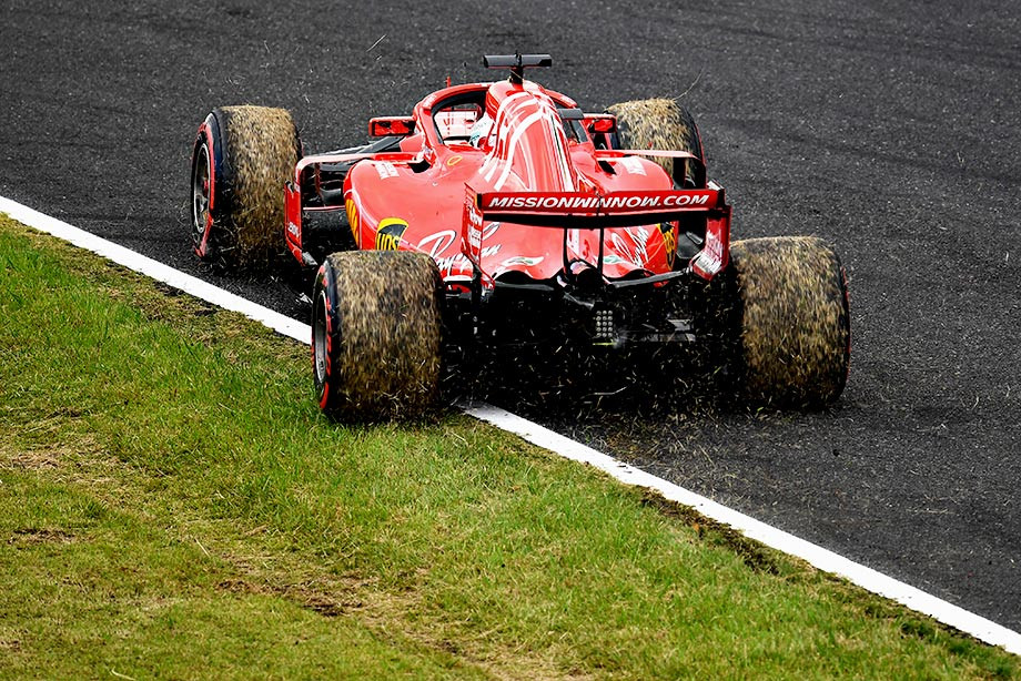 «Феррари» снова не у дел: Хэмилтон на поуле Гран-при Японии, Феттель — 9-й