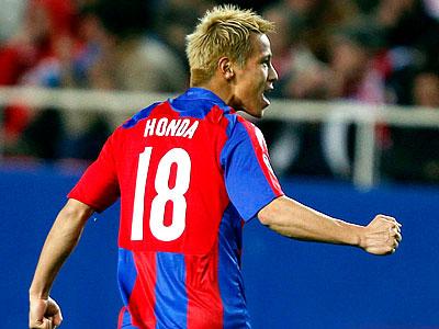 Хонда: я всегда мечтал забить в Лиге чемпионов!