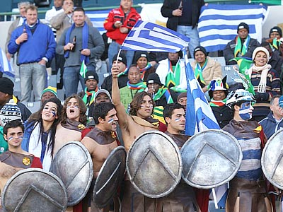Греческий дух победил Нигерию