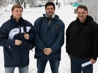 Андрей Юдин, Александр Верижников и Сергей Козлов