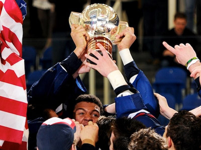 Сборная США стала победителем юниорского чемпионата мира