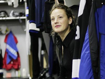 Александра Вафина – об особенностях американского женского хоккея