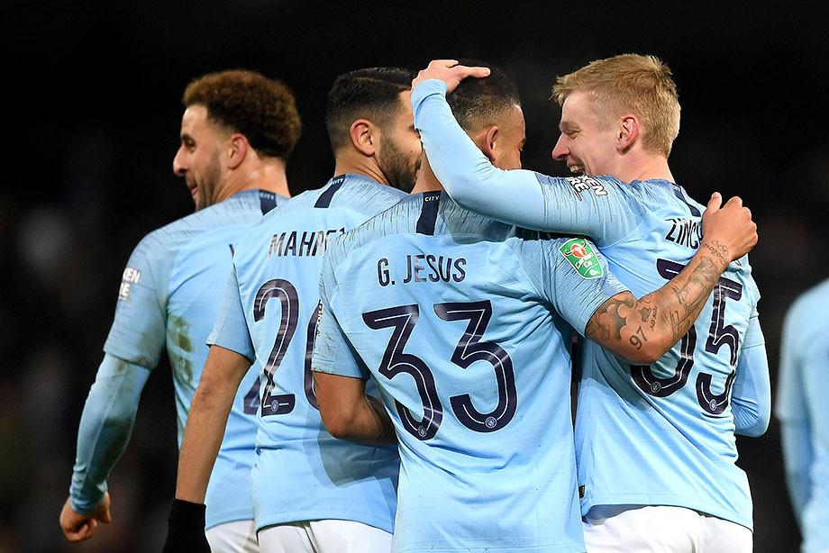 Зинченко забил фантастический гол, «Манчестер Сити» выиграл 9:0! Это надо видеть