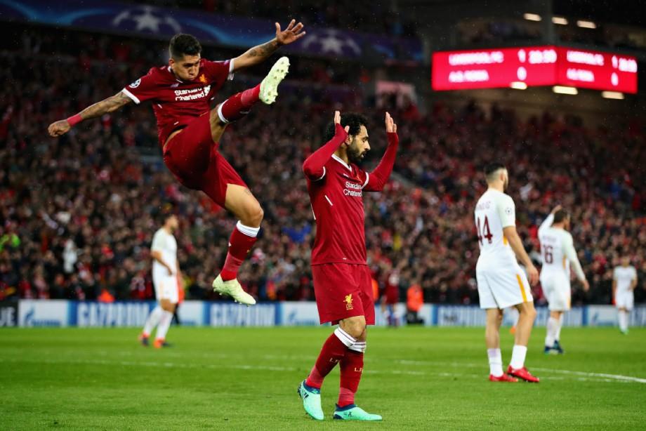 Лига чемпионов. «Ливерпуль» – «Рома» – 5:2
