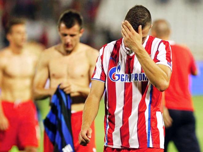 «Црвена Звезда» исключена из Лиги чемпионов