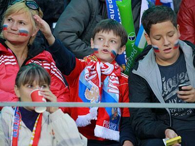 Россия - Люксембург: вокруг матча