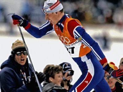 Михаил Иванов на Олимпиаде в Солт-Лейк-Сити
