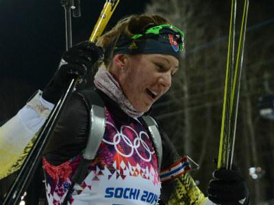 Олимпийская чемпионка Анастасия Кузьмина