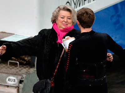 Татьяна Тарасова и Максим Ковтун