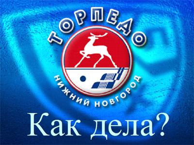 """Как дела? """"Торпедо"""" (Нижний Новгород)"""