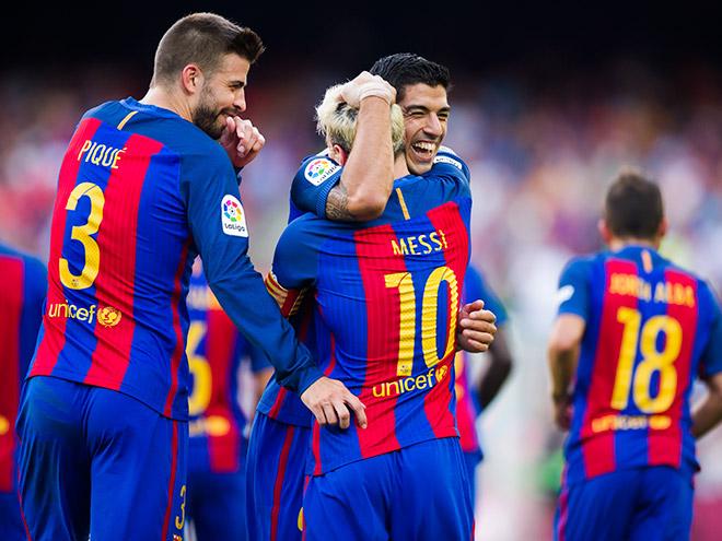 События матчей Европы: победы «Ман Сити», «Барселоны» и «Монако»