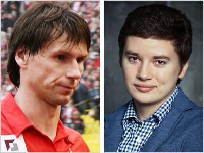 Егор Титов и Леонид Волотко
