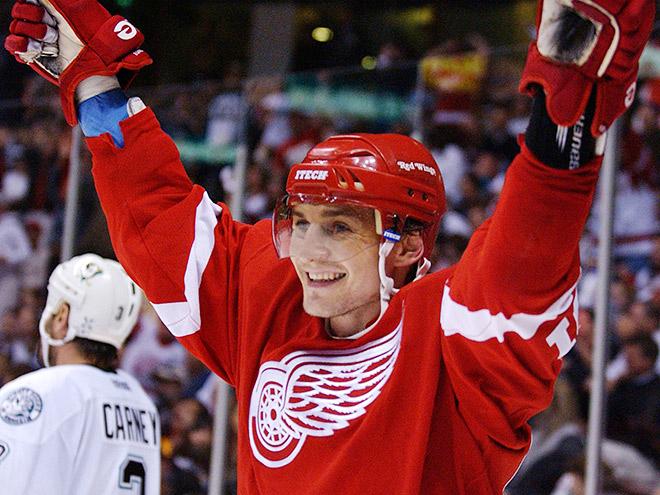 Сергей Фёдоров в Зале славы НХЛ