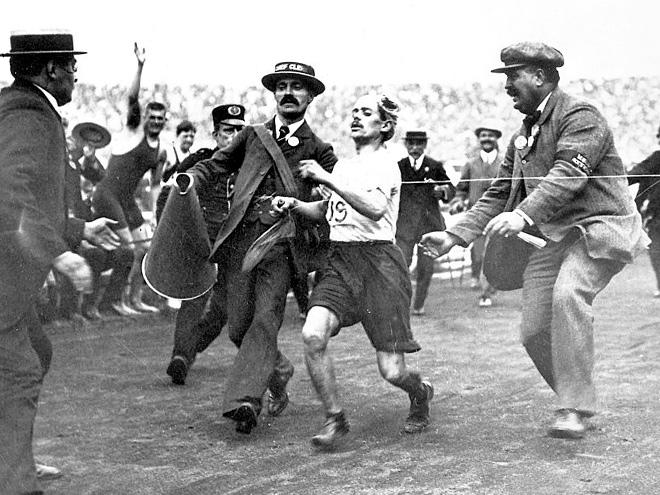 Автор Шерлока Холмса Артур Конан Дойл поучаствовал в олимпийском марафоне