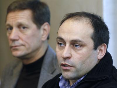 Александр Жуков и Дмитрий Свищев