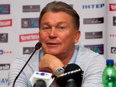 Главный тренер сборной Украины провёл пресс-конференцию