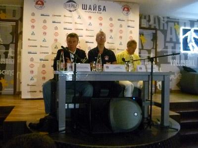 Пресс-конференция руководителей «Торпедо»