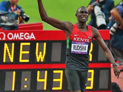 Лондон-2012. Лёгкая атлетика. Рудиша
