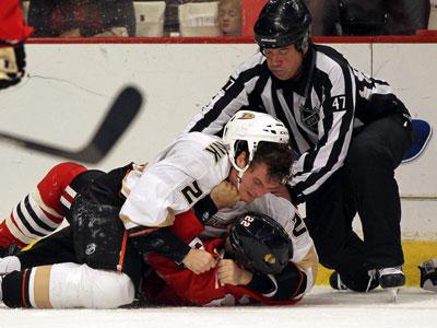 НХЛ: кулачные бои