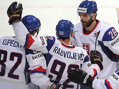 Сборная Словакии не без труда обыграла Казахстан