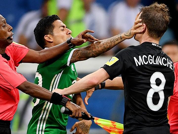 Кубок конфедераций. Мексика – Новая Зеландия – 2:1