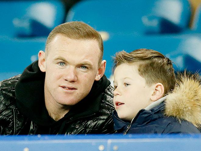 Уэйн Руни с сыном