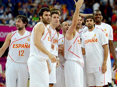 Лондон-2012. Баскетбол. Сборная Испании