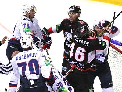Итоги игрового дня КХЛ (23.01.2013)