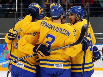 Сочи-2014. Хоккей. Швеция — Латвия