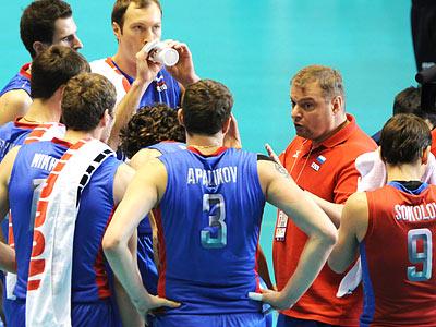 Репортаж со сбора волейбольной команды России