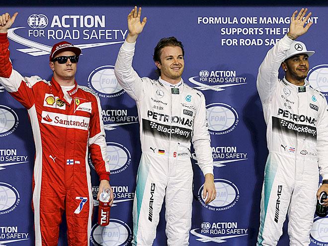 Стартовая решётка Гран-при Абу-Даби Формулы-1