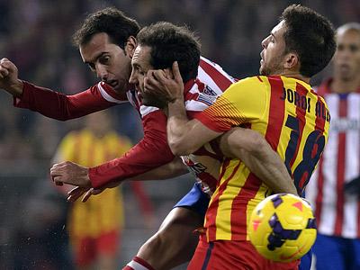 """""""Атлетико"""" — """"Барселона"""" — 0:0"""