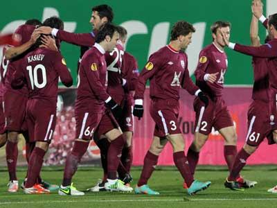 «Рубин» обыграл «Крылья Советов» со счётом 2:0
