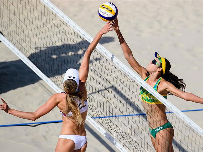 Олимпиада 2016. Пляжный волейбол. Россия - Бразилия - 0:2. Обзор матча