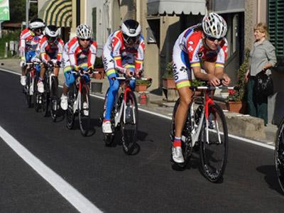 «Русвело» - четвёртая в командой гонке