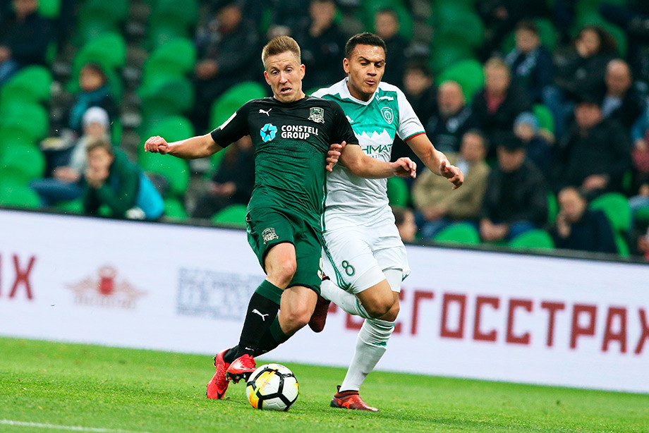 «Ахмат» обыграл «Краснодар» вматче первого тура РПЛ