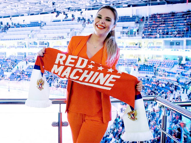 Жёны, подруги, дети и друзья российских хоккеистов на Кубке мира