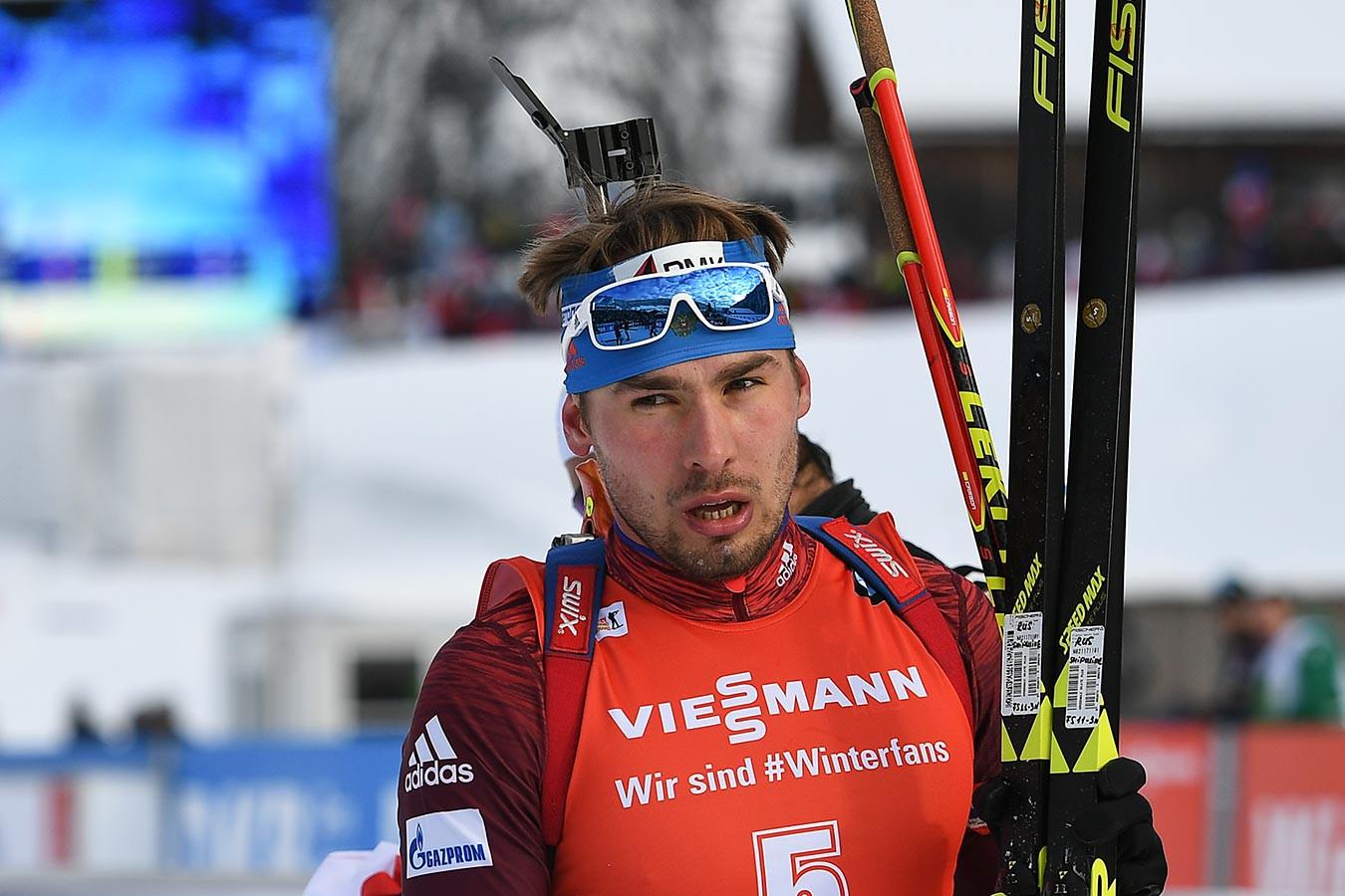 Фото российского биатлониста шипулина