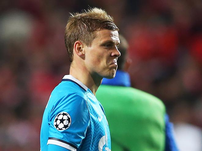 «Зенит» проиграл «Бенфике» в Лиге чемпионов
