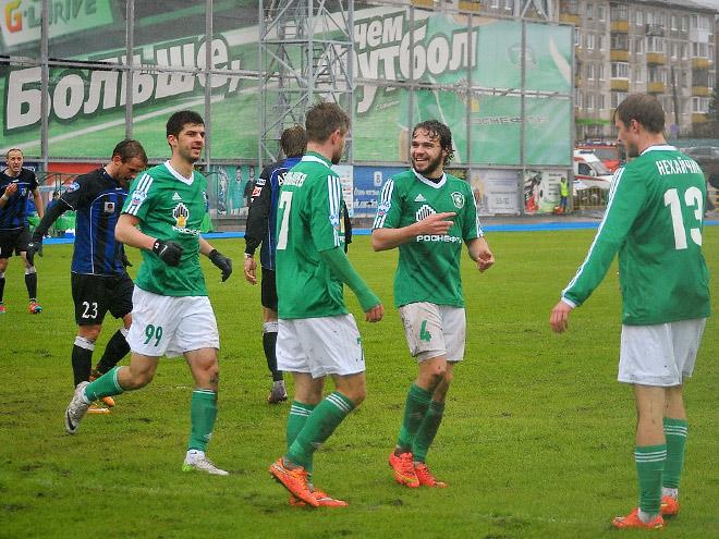 «Томь» готовится к переходным матчам с «Уралом»