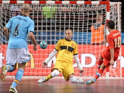 Мини-футбол. Чемпионат Европы. Россия - Испания