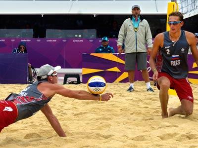 Лондон-2012. Пляжный волейбол. Константин Сёменов