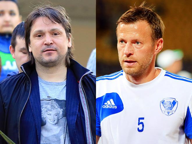 Вадим Евсеев и Андрей Каряка