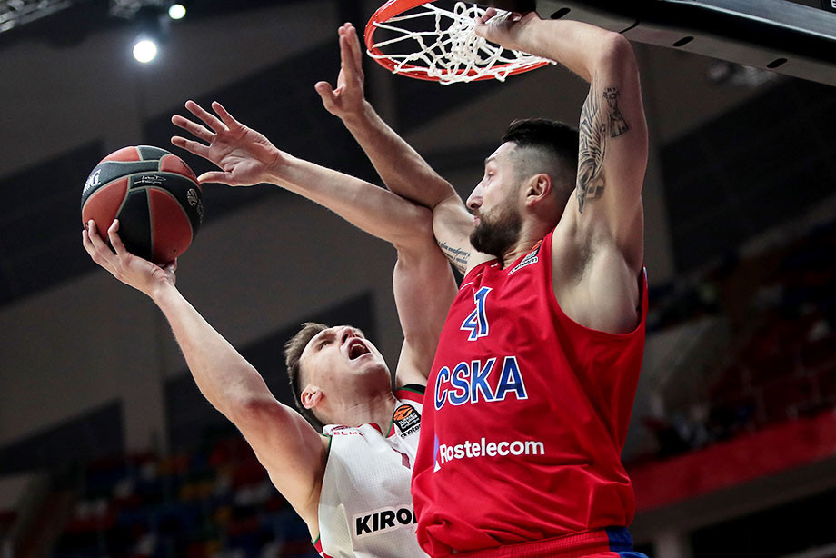 «Баскония» лишила ЦСКА преимущества своей площадки